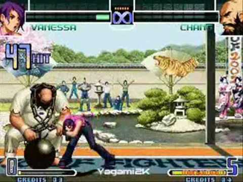 the king of fighter 2002 los mejores combos!!