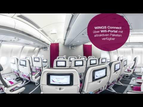 Die Eurowings A330 Kabine in 360°