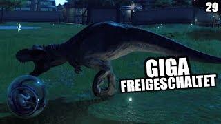 Jurassic World Evolution Deutsch #29 ► Giga freigeschaltet ◄| Let's Play Gameplay German