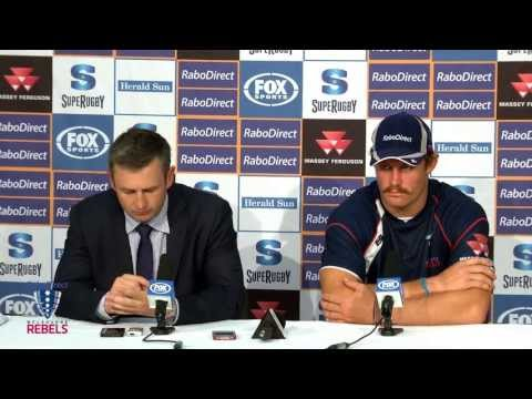 Rebels vs Kings post match presser | Super Rugby Video Highlights 2013 - Rebels vs Kings post match