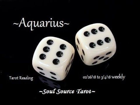 ~Aquarius~This Too Shall Pass~Feb 26 to March 4, 2018 Weekly Tarot Reading