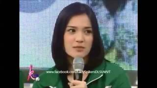 Cooking   Mika Reyes and Michele Gumabao on Kris TV   Mika Reyes and Michele Gumabao on Kris TV