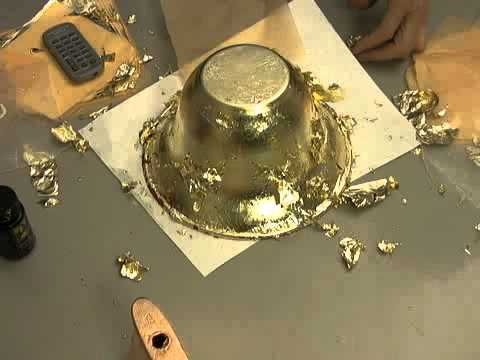 How To Gold Leaf Learn To Gold Leaf And Have Some Fun