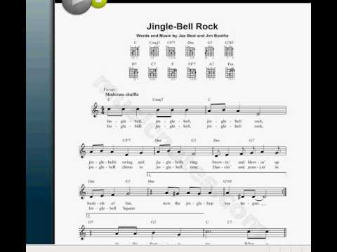 Jingle Bells Rock NOTES- THE MOMMENT YOU BEEN WAITING FOR.-ALL INSTR ...