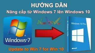 Hướng dẫn nâng cấp lên hệ điều hành Window 10 từ Win 7, 8 | namloan ✅
