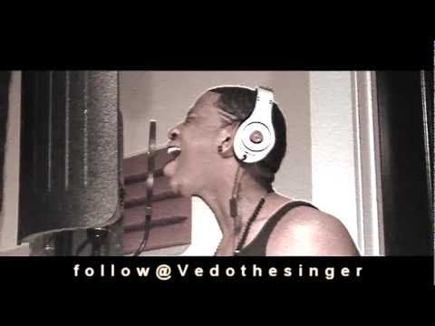 Chris Brown - All Back cover By vedothesinger video
