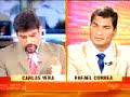 Rafael Correa, entrevistado por Carlos Vera