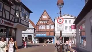 Spaziergang in Nienburg an der Weser durch die Stadt