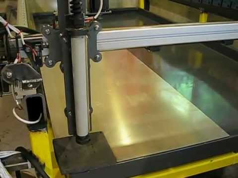 Diy 50 X 101 Cnc Plasma Water Table With Hypertherm