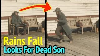 Rains Fall Looks For Lost Son in Red Dead Redemption 2 (RDR2): Rains Fall Ending Credits Cutscene