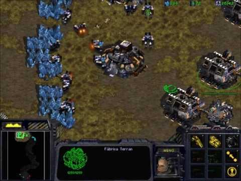 Starcraft - 1 Gas Siege Tanks