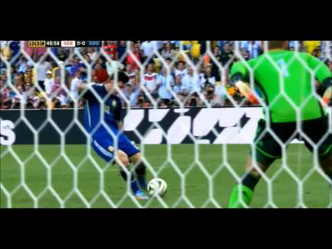 Lionel Messi vs Germany | World Cup 2014 Final | 2014 1080p