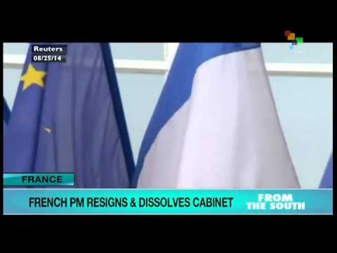 French PM resigns and dissolves the cabinet