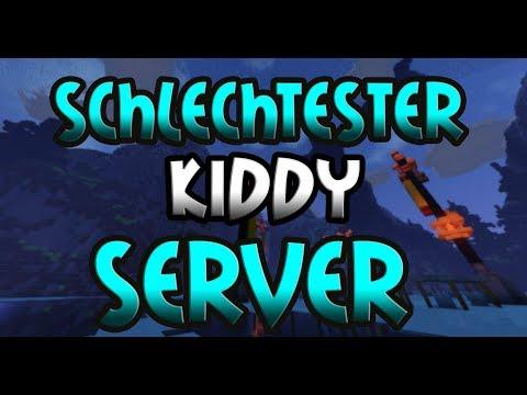 SCHLECHTESTER KIDDY SERVER mit FREEBUILD - Minecraft Server Vorstellung 1.8 || Deutsch/German
