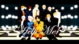 【APヘタリアMMD】『Help me!!』 + 10 000 Subs!!