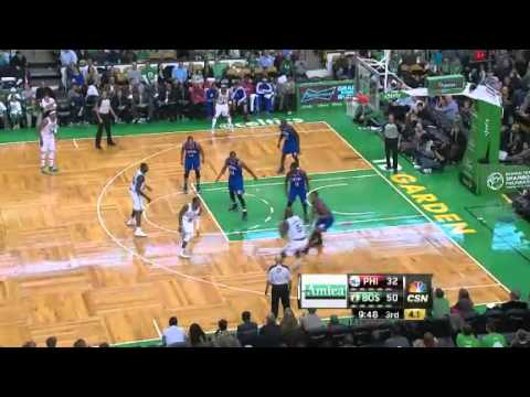 Philadelphia Sixers vs. Boston Celtics Full Highlights 8 December 2012