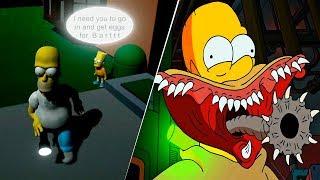 El MEJOR juego de TERROR de los SIMPSONS | Eggs For Bart | Link de Descarga