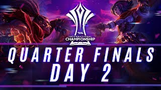 RoV : AIC 2018 Quarter Finals Day 2