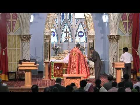 Malankara Mar Thoma Syrian Church Holy Qurbana By Rev. Jacob Varghese-english 01 video