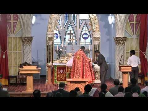 Malankara Mar Thoma Syrian Church Holy Qurbana By Rev. Jacob Varghese-english 01 video