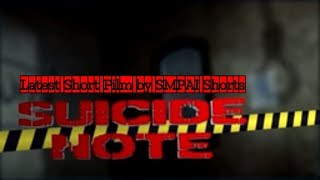Suicide Note Full Short Film (HD) – SMPAi Shorts