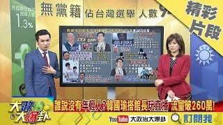 【精彩】韓國瑜被低估?姚立明稱挺他的都退休軍公教 一場「總統級直播」神打臉