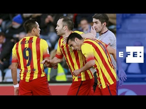 El Barcelona, sin Neymar ni Messi, quiere cerrar en Getafe el año como líder