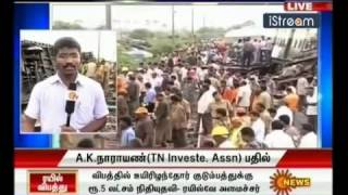 Arakkonam - JKVetrivendan - SEP 13TH - Arakkonam Accident -Treatment.flv