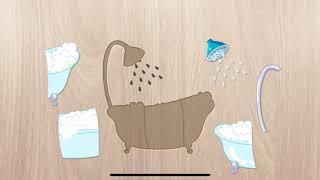 Tập 4 ( Phòng Tắm) Ghép hình dành cho trẻ em