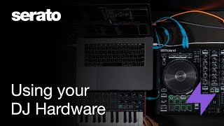 How to use your DJ hardware in Serato Studio
