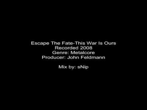 Escape The Fate-this War Is Ours (snip's Mix) 1 Hour video