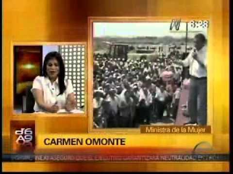 Entrevista a la ministra de la Mujer, Carmen Omonte sobre Aspa Mujer (Canal N)