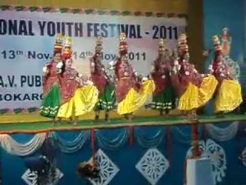 Rajasthani Folk Dance chirmi by DAV Rajrappa