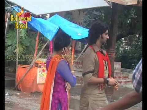 On location of TV Serial Na Bole Tum Na Maine Kuchh Kaha 1