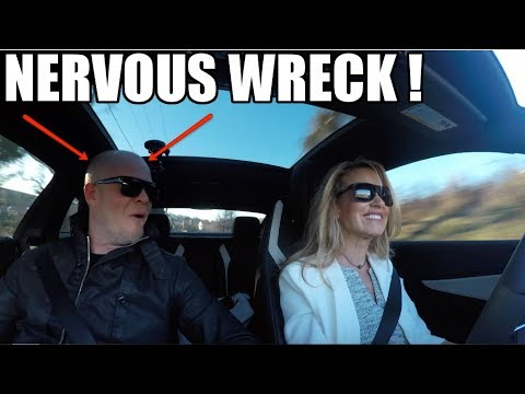 My WIFE Drives The AMG For The First Time! But She Didn't Seem All That Impressed..