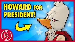 Why HOWARD THE DUCK's Creator Ruffled Marvel and Disney's Feathers || NerdSync
