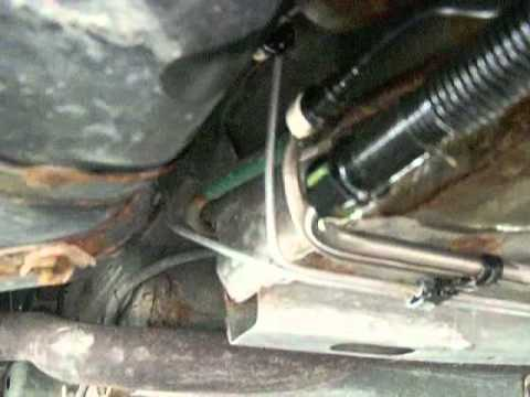 2002 ford focus fuel filter replacement.avi