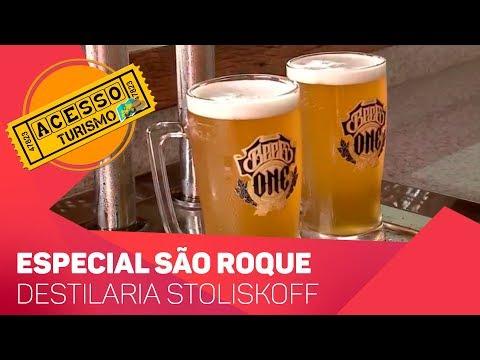 Acesso Turismo São Roque: Destilaria Stoliskoff - TV SOROCABA/SBT