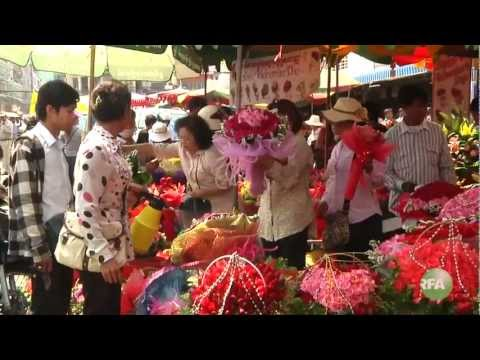 Valentine day in Phnom Penh