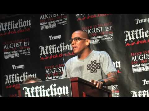 Affliction: Trilogy - NY Press Conference Video