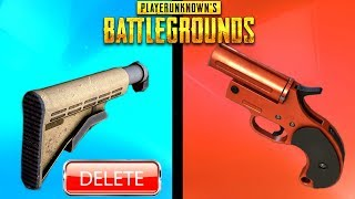 10 MORE THINGS THAT GOT REMOVED FROM PUBG! - PlayerUnknownsBattlegrounds