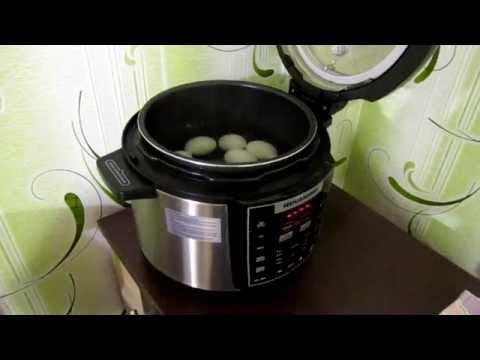Как варить яйца в мультиварке - видео