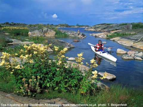 Sea Kayaking in Sweden - www.naturetravels.co.uk