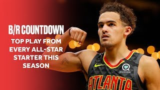 The Best Play From Every NBA All-Star Starter This Season | B/R Countdown