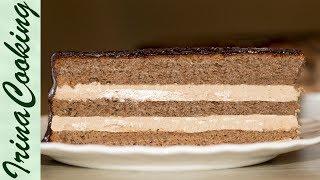 Торт Прага - рецепт приготовления в домашних условиях | Prague Cake Recipe