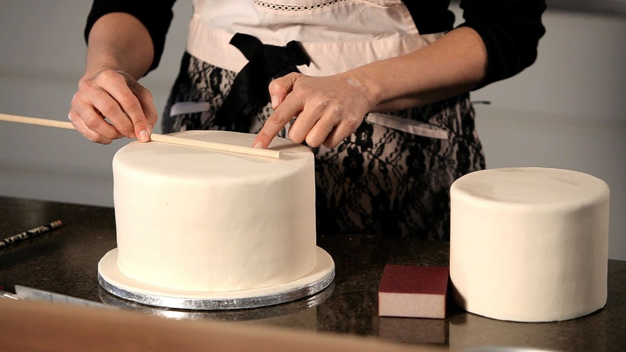 How To Assemble A Wedding Cake Wedding Cakes YouTube