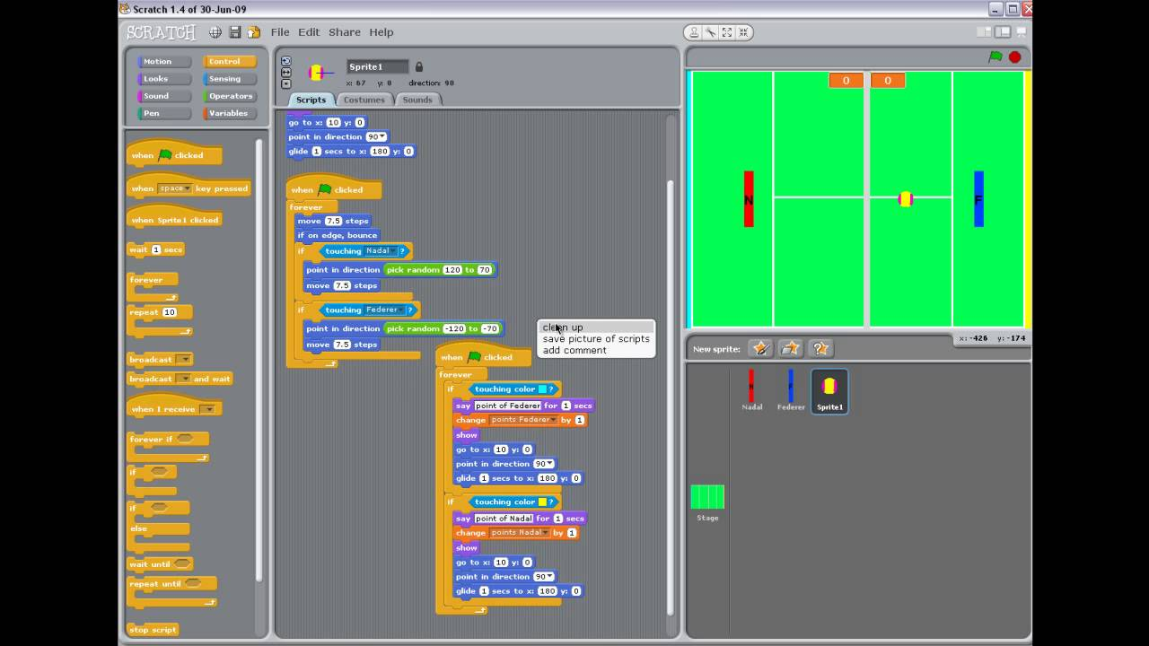 Scratch Game Project a