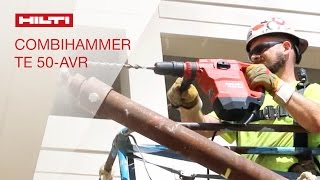 TESTIMONIALS by customers about the Hilti Combihammer TE 50-AVR