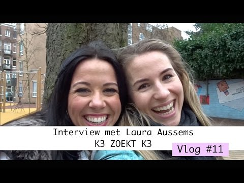 VLOG #11   INTERVIEW MET LAURA AUSSEMS K3 ZOEKT K3   Jantien Euwe