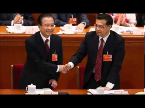 Chinese Premier Wen Jiabao bows off the public stage